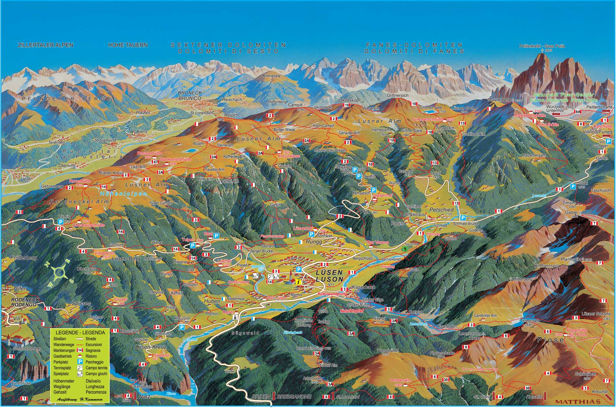 val gardena hiking map pdf